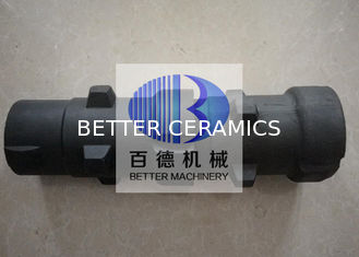 Silicon Carbide Products / SiSiC Radiation Tube With Rbsic Recuperator