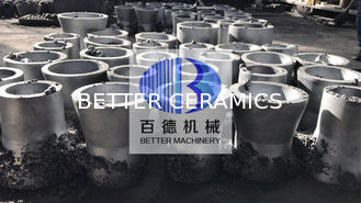 SIC Ceramic Cyclone Liner / Silicon Carbide Products For Papermaking Industry