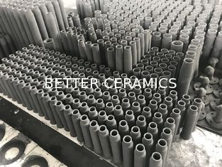 Recrystallized Silicon Carbide Burner Nozzle for Shuttle Kiln