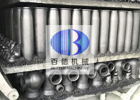 China BD Silicon Carbide Products / Ceramic Burner Nozzle For Roller Hearth Kiln factory