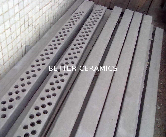 Thermal Conductivity Sisic Beam Silicon Carbide Ceramic use In Kiln Furniture