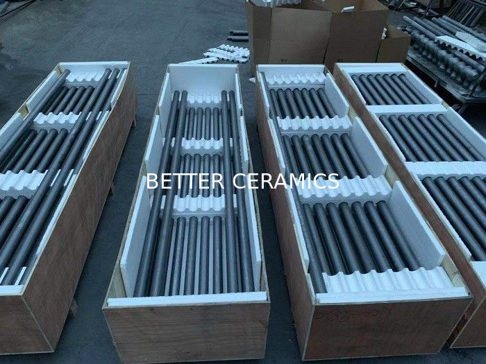Li Battery Industry SiC Roller Silicon Carbide Tube With High Temperature Proof