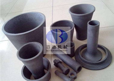 China Energy Saving Silicon Carbide Parts Sisic / Rbsic / Sic Crucible Sagger To Sinter Powder factory