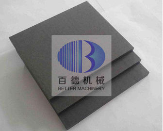 China Wear Resistant Silicon Carbide Plate , Ceramic SIC Plate ISO 9001 Approved factory