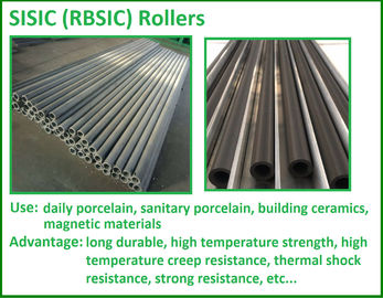 High Temp Tube Refractory Silicon Carbide Roller Use In Kiln Furniture