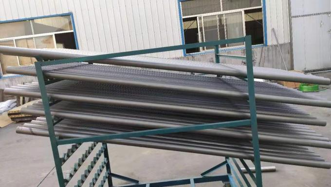 Lithium Battery Industry Sisic Roller , Silicon Carbide Rollers Energy Saving
