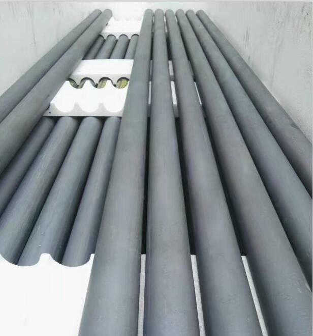 Refractory Material Sic Silicon Carbide Roller Thermocouple Protection Tube